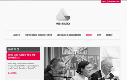 Arts Emergency – www.arts-emergency.org